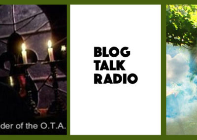 Interview on The Hermetic Hour – Blog Talk Radio